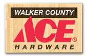 Walker County Ace Hardware Logo